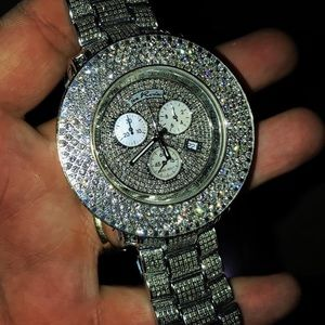 Men's Joe Rodeo Junior Diamond Watch 24.00 carats
